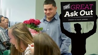 Boy Asks Crush to Prom on Morning Announcements | Great Ask Out Ep. 1