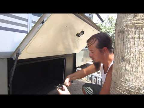 How To Replace A Baggage Door Latch On A Fleetwood Jabree