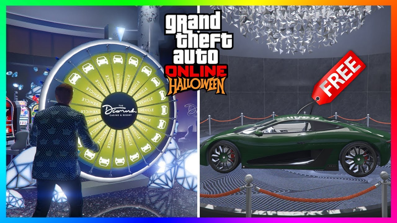 Rockstar Games Made A MASSIVE Change To The Lucky Wheel In GTA 5 Online - Halloween 2020 Update!