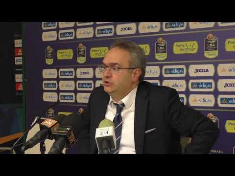 Scandone Avellino - Leonessa Brescia, l'analisi di coach Sacripanti