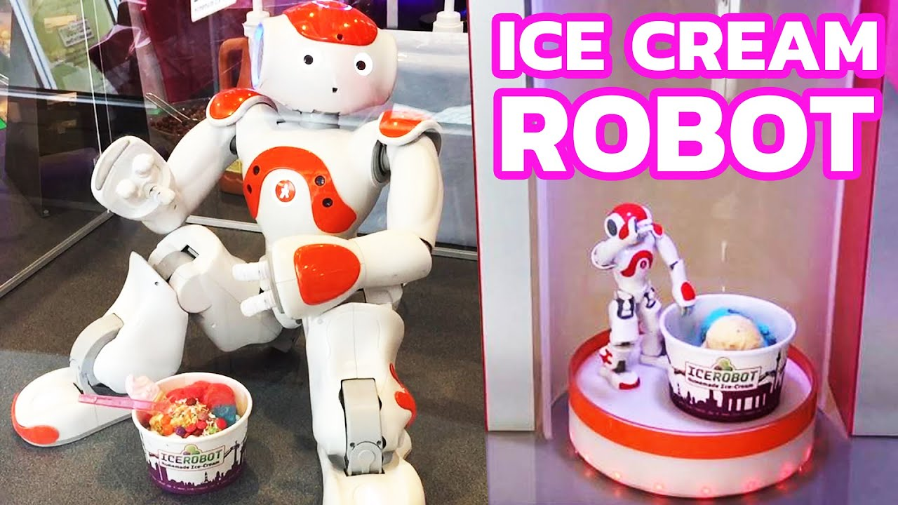 Robot Ice Cream Roll Out In Germany The Most Modern