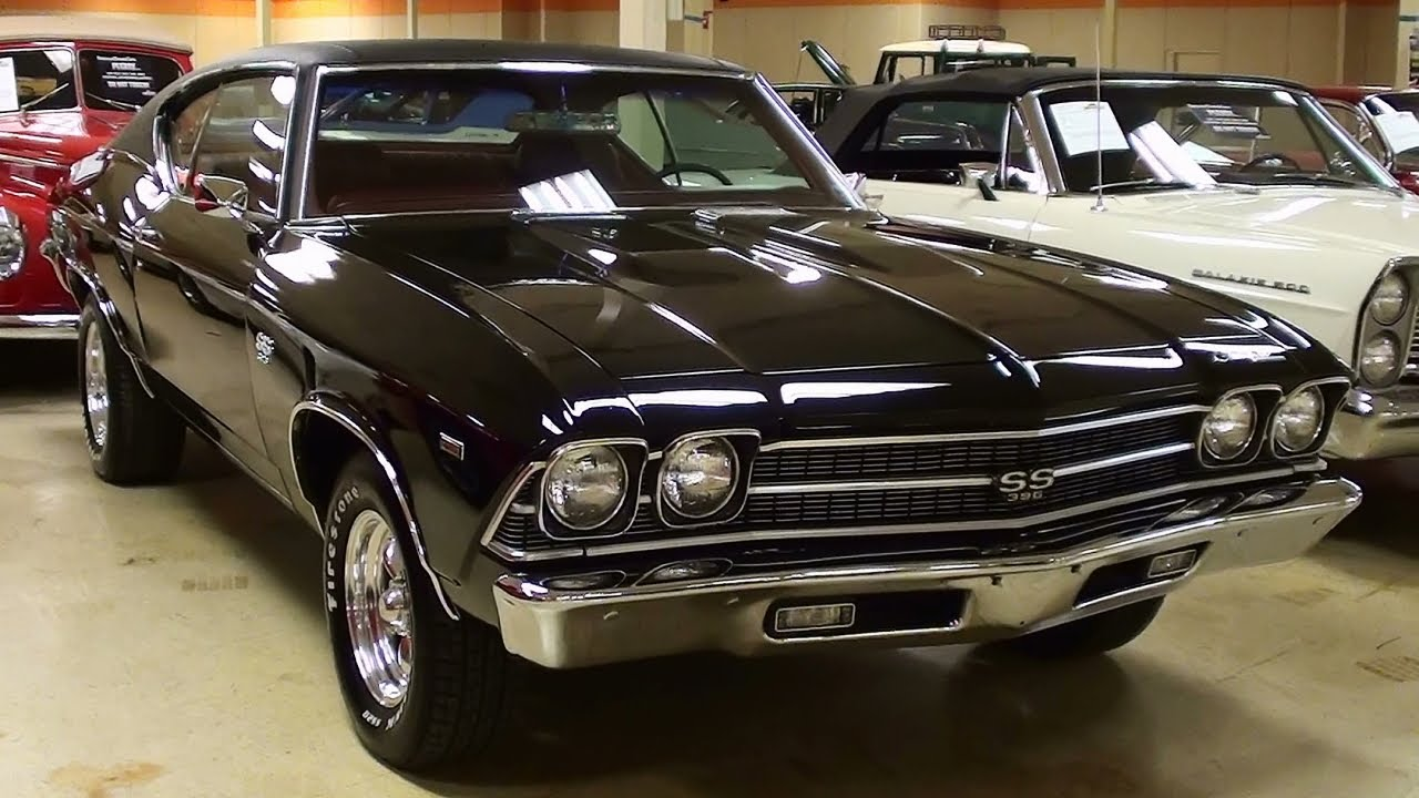 1969 Chevrolet Chevelle SS 427 Big-block V8 Muscle Car - YouTube