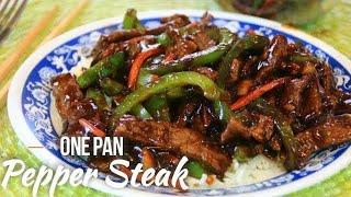 One Pan Pepper Steak in 30 Minutes