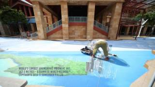 Story of Our City 3D: Timelapse of Guinness World Records, Longest Anamorphic Pavement Art