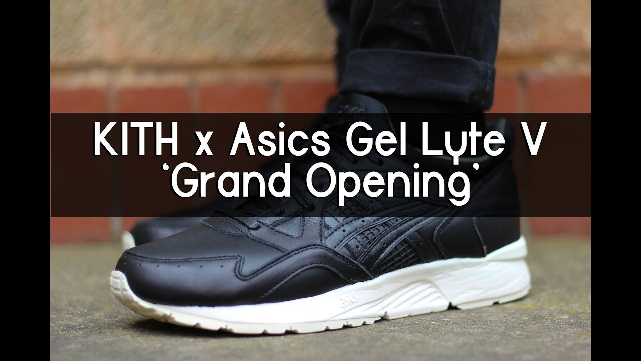 new styles 606b2 64e41 KITH x Asics Gel Lyte V 'Grand Opening' - Review + On feet
