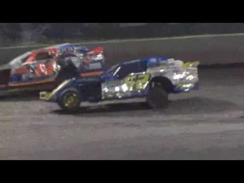 IMCA Sportmod Feature Boone Speedway Boone Iowa 8/20/16