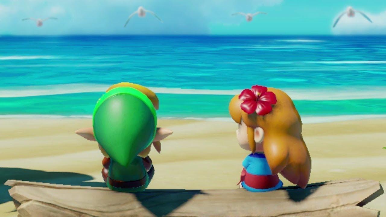 Zelda Link S Awakening Fun With Marin