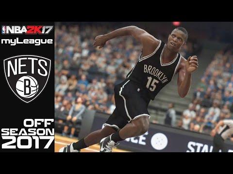 NBA 2K17 Brooklyn Nets myLeague | 2017 NBA Offseason Pre-Draft