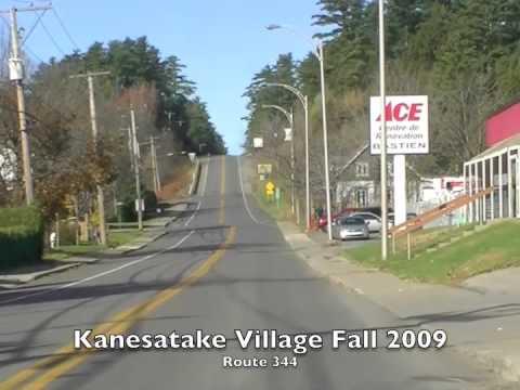 Kanesatake Drive through Rte 344
