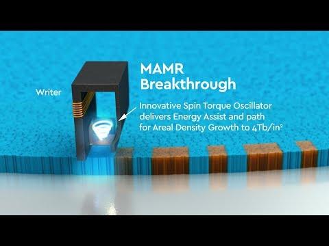 Western-Digital MAMR Storage Technology