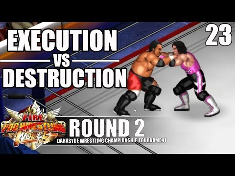 THIS MATCH WAS LIT !!!   SUBMISSION CITY - BRET HART VS SAMOA JOE   DSWT ROUND 2