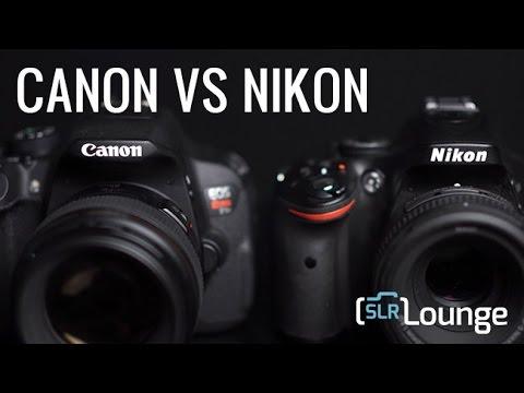 Entry Level Cameras Canon vs Nikon | Gear Talk Episode 11