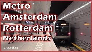 Metro Amsterdam & Metro Rotterdam Netherlands 2018 #1