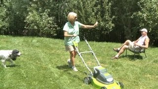 The Best Lawnmower? Cordless Electric.