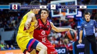#ligaendesa #acb #basketzaragoza #casademont #baloncesto casademont zaragoza y fc barcelona se enfrentaron j6 de liga endesa el 27 octubre 2019. recopi...