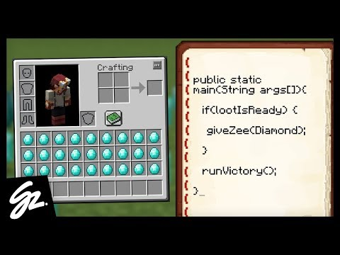 CODING IN MINECRAFT?! - DiamondFire Minecraft Server