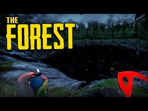 The Forest - Ep 2 - FINDING THE SINKHOLE (The Forest Alpha 0.43 Gameplay)