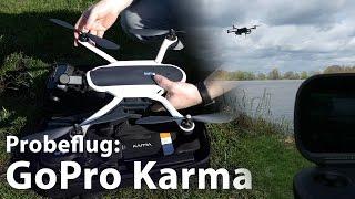 Probeflug: Videodrohne GoPro Karma