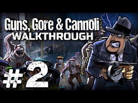 Прохождение Guns, Gore & Cannoli - Часть #2 - ЗАЧИСТКА НА СКЛАДЕ