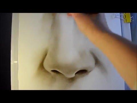 видео: Как нарисовать нос/ уроки портрета