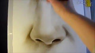 Как нарисовать нос/ студия рисунка(Как нарисовать нос поэтапно в технике сухая кисть вам продемонстрирует художник Светлана Белова. Уроки..., 2016-01-15T11:59:35.000Z)