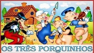 Desenhos Disney | Os Três Porquinhos - Clássicos Infantis - HD