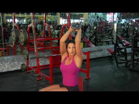 How to Do Triceps Dumbbell Extensions