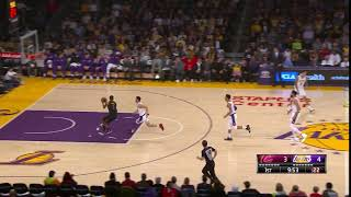 1st Quarter, One Box Video: Los Angeles Lakers vs. Cleveland Cavaliers