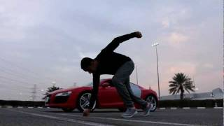 Man vs Audi R8