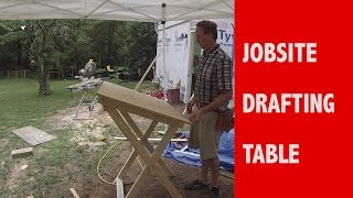 Jobsite Drafting Table  | Plan Table