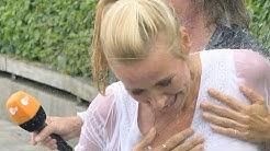 Andrea Kiewel - Ungewollte Einblicke: Dieser Ausrutscher im ZDF-Fernsehgarten war nicht geplant