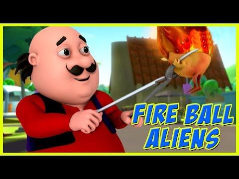 Motu Patlu | Fire Ball Aliens | Motu Patlu In Hindi