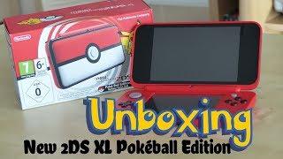 77e5f157c NINTENDO New 2DS XL Pokéball Edition plus Pokémon Ultra Sun; video; video;  video