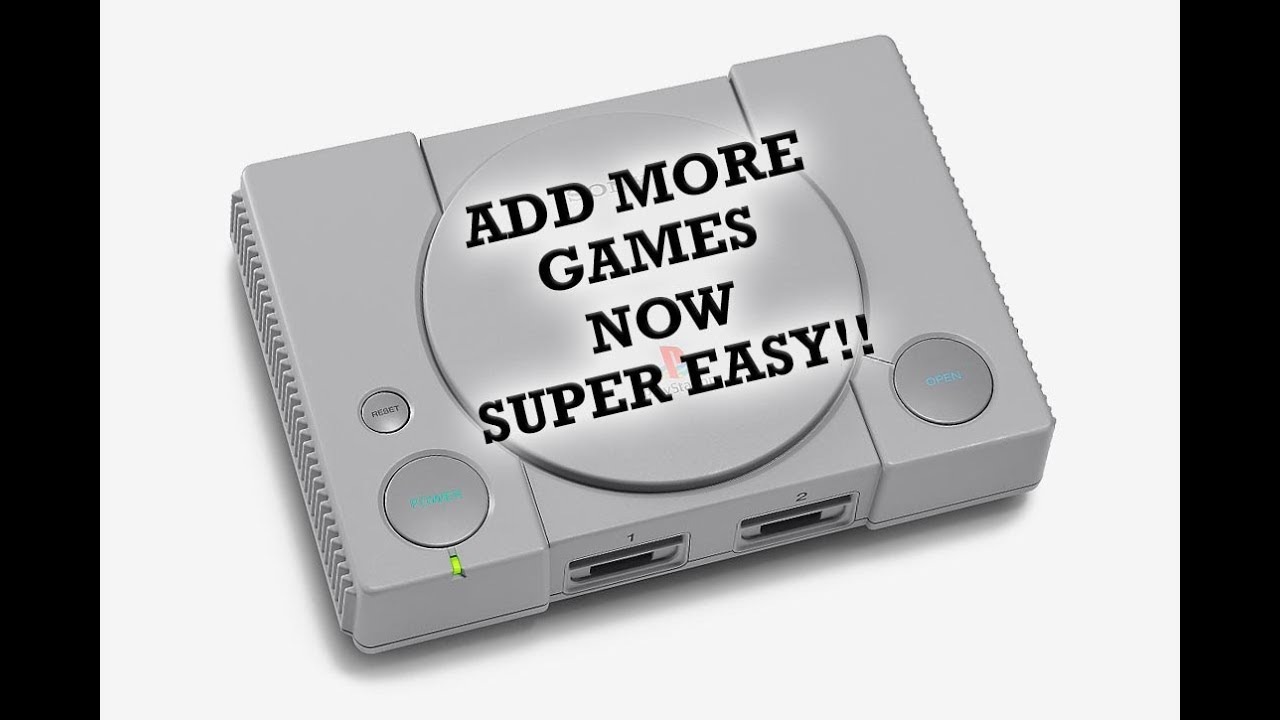 add games to playstation classic