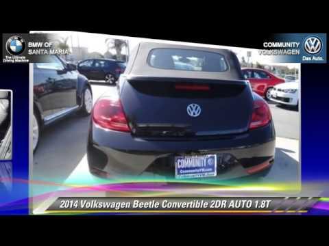 New 2014 Volkswagen Beetle Convertible 1.8T - Santa Maria