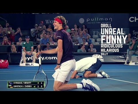 Tennis. TOP Funny Moments (2018 Edition)
