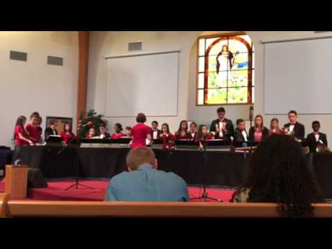 Glenview Adventist Academy bell choir