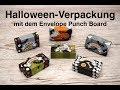 👻 Halloween Verpackung mit dem Envelope Punch Board - Stampin' Up!
