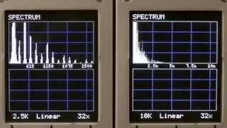 Doepfer A-106-5 12 dB SEM Filter Audio Demo Part One-Low Pass Filter