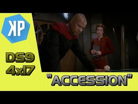 """Accession"" (DS9) - Dan's Star Trek Re-Watch Reviews 005"