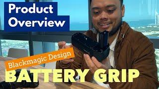 Product Overview: Blackmagic Design Pocket Camera Battery Grip