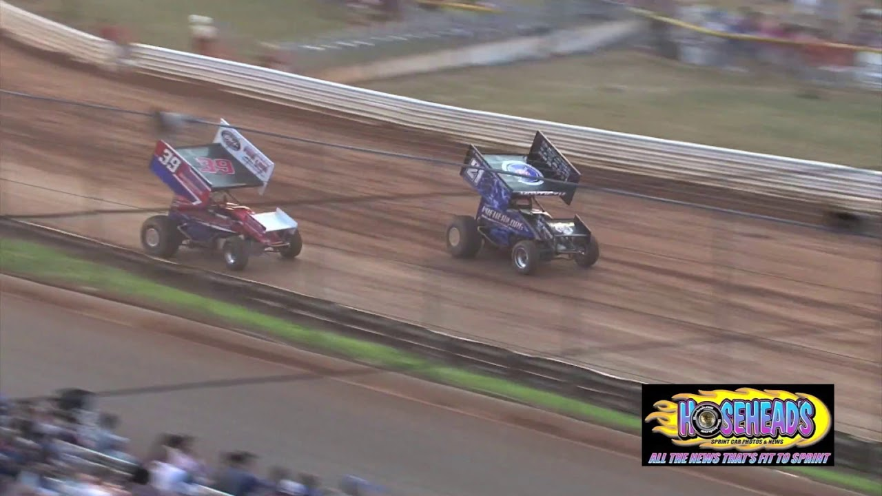 July 14 2018 Lincoln Speedway 410 Sprint Feature Highlights