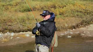 LTS fly fishing canada in green land