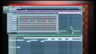 8bit Hip-hop beat in Fl Studio 9 by Kachay