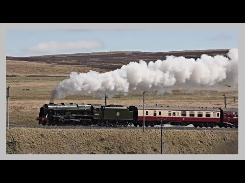 Masters Of The Mainline - U.K Steam Train Review - 2016