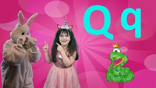 Letter Q 2021 | Alphabet Song for Kids (New) | Arissa & Bunny