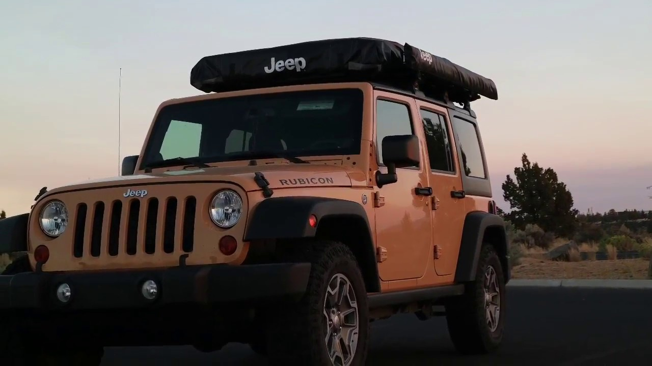 Jeep Overland Car Camping Gear - Jeep Awning from ...
