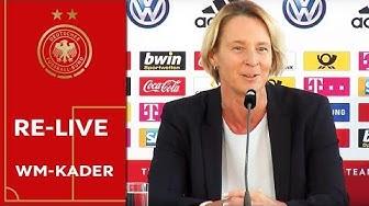 Martina Voss-Tecklenburg nominiert drei Teenager | Bekanntgabe des WM-Kaders der Frauen
