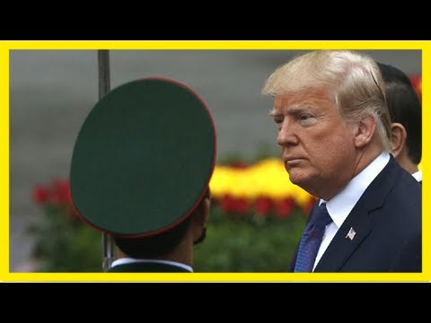 Three military personnel reassigned following 'incident' during trump's asia trip: report