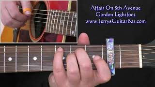 Gordon Lightfoot Affair on 8th Avenue Lesson (intro only)